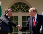 Bolsonaro reposiciona Brasil no mundo, com a chancela de Trump