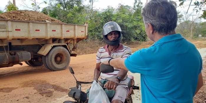 Prefeito João Luiz intensifica melhorias nas estradas do município