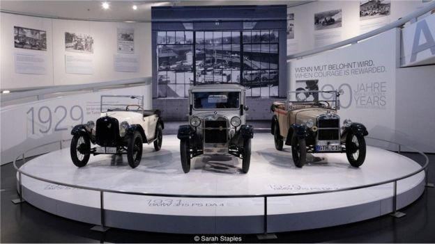 Um museu sobre o patrimônio automotivo na Alemanha mostra inovações que surgiram a partir do Motorwagen, da Benz