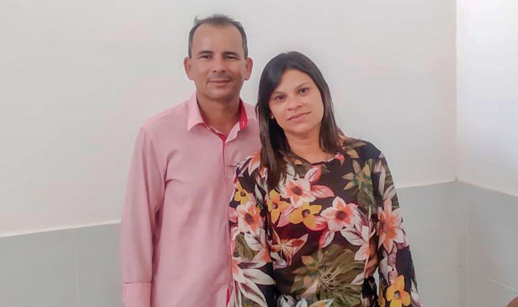 Neto Alves (Secretário de Governo) e Sandra Pinheiro (Superintendente de Governo)