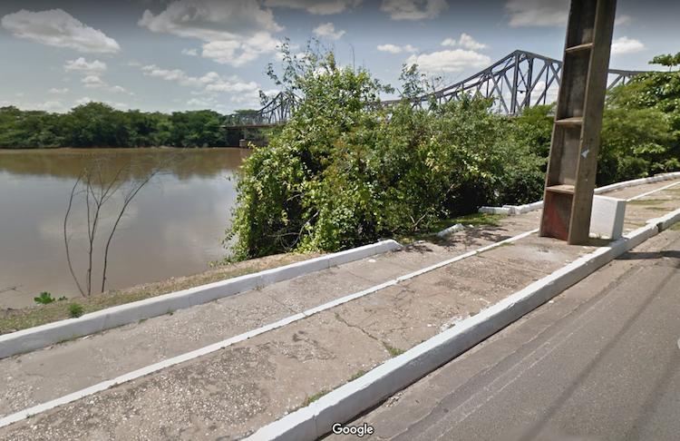Local onde o corpo foi encontrado - Foto: Google Maps/ Reprodução