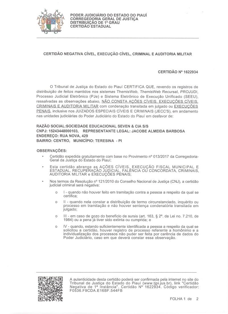 Errata: Dono da Faculdade SEVEN esclarece informações relacionadas a instituição  - Imagem 6