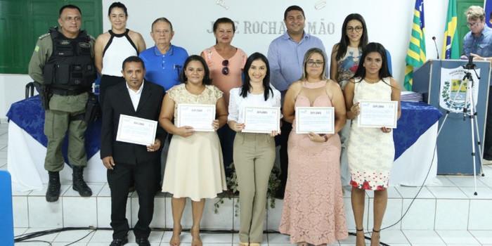 Conselheiros Tutelares de Uruçuí tomam posse na Câmara