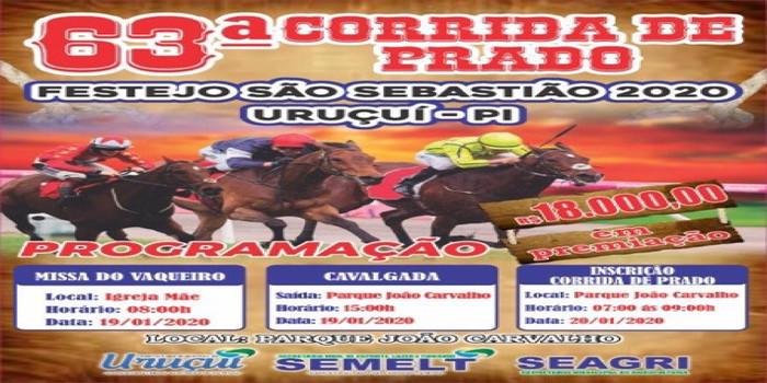 Corrida de Prado em Uruçuí terá 18 mil em premiação