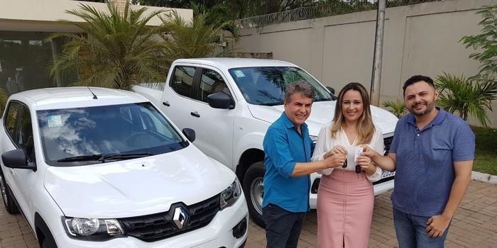 Prefeito João Luiz reforça frota de novos veículos a serviço da população de Monsenhor Gil