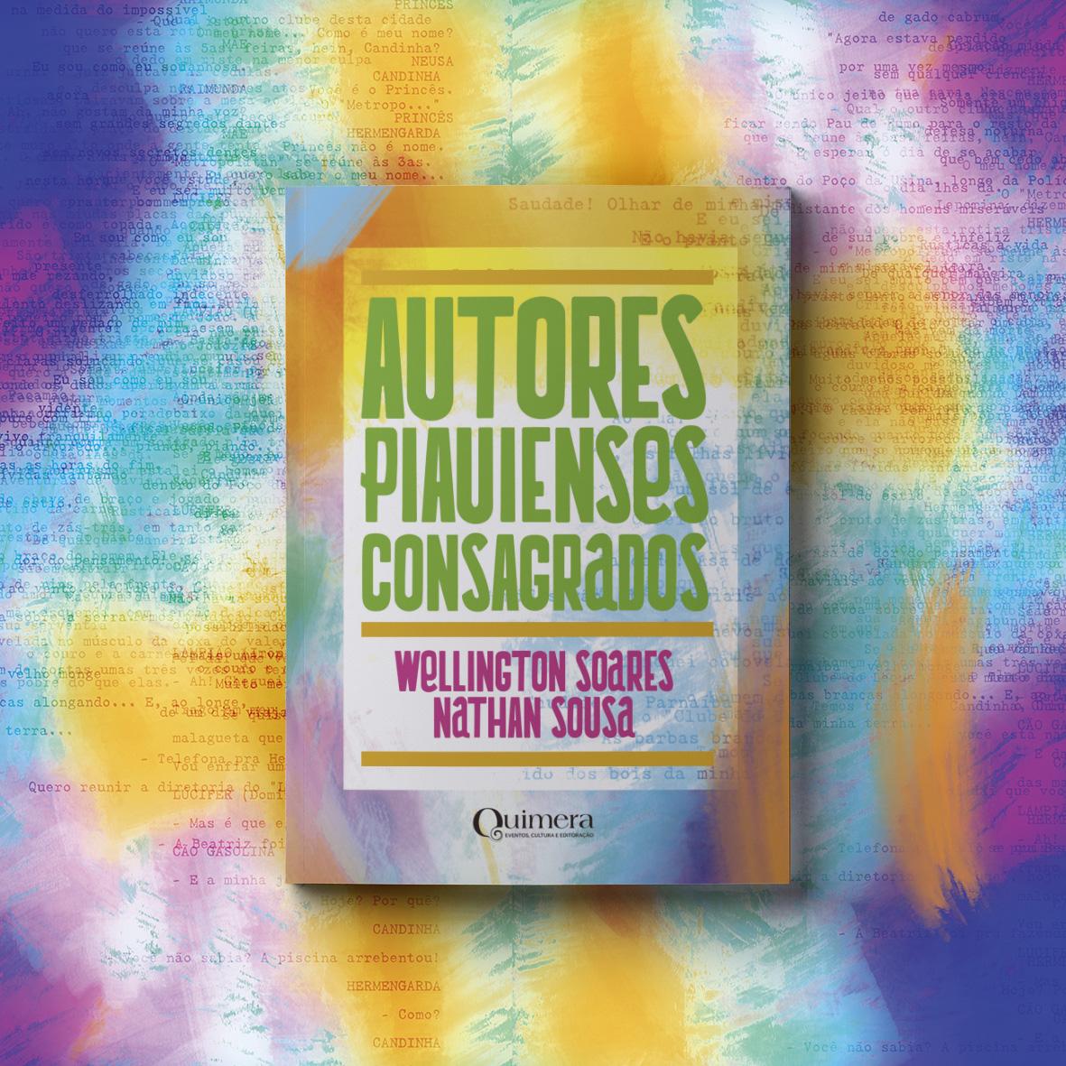 Livro reúne autores consagrados do Piauí - Imagem 1