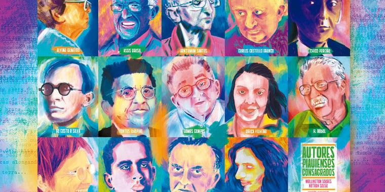 Livro reúne autores consagrados do Piauí