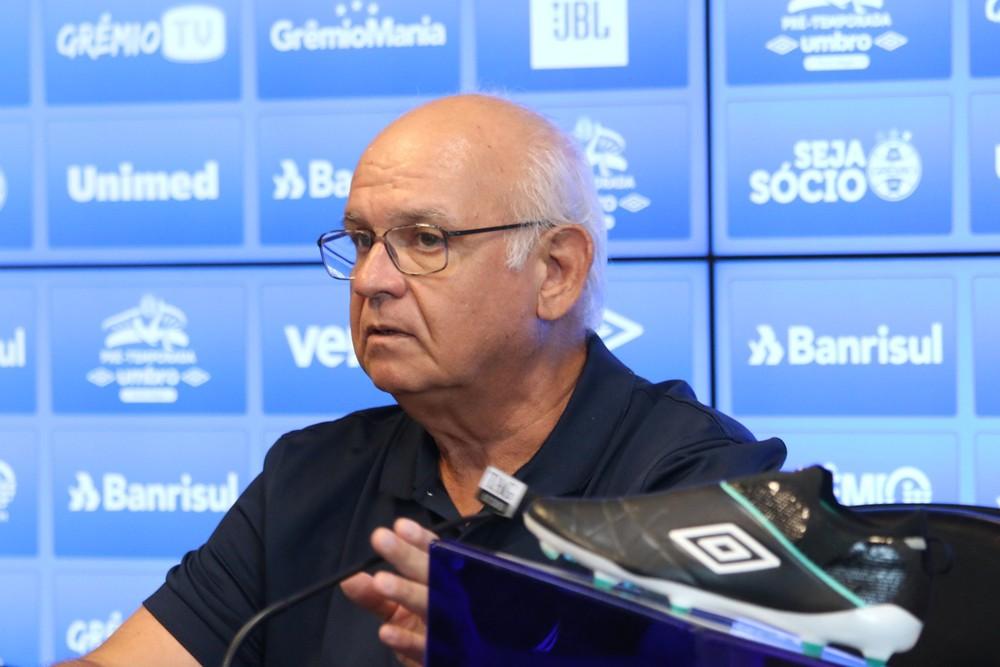 Romildo Bolzan Júnior, presidente do Grêmio — Foto: Eduardo Moura / GloboEsporte.com