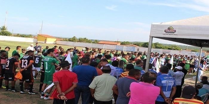 11º  Edição do campeonato municipal de futebol de Santo Inácio teve início neste sábado