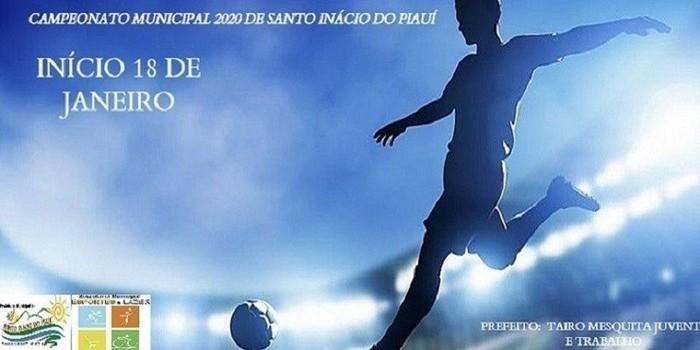 Tabela de jogos do campeonato municipal de futebol de Santo Inácio do Piauí 2020