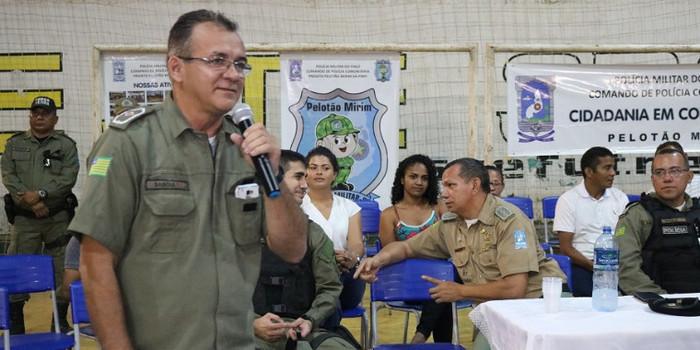 Tenente Sabóia completa um ano no GPM de N. S. dos Remédios