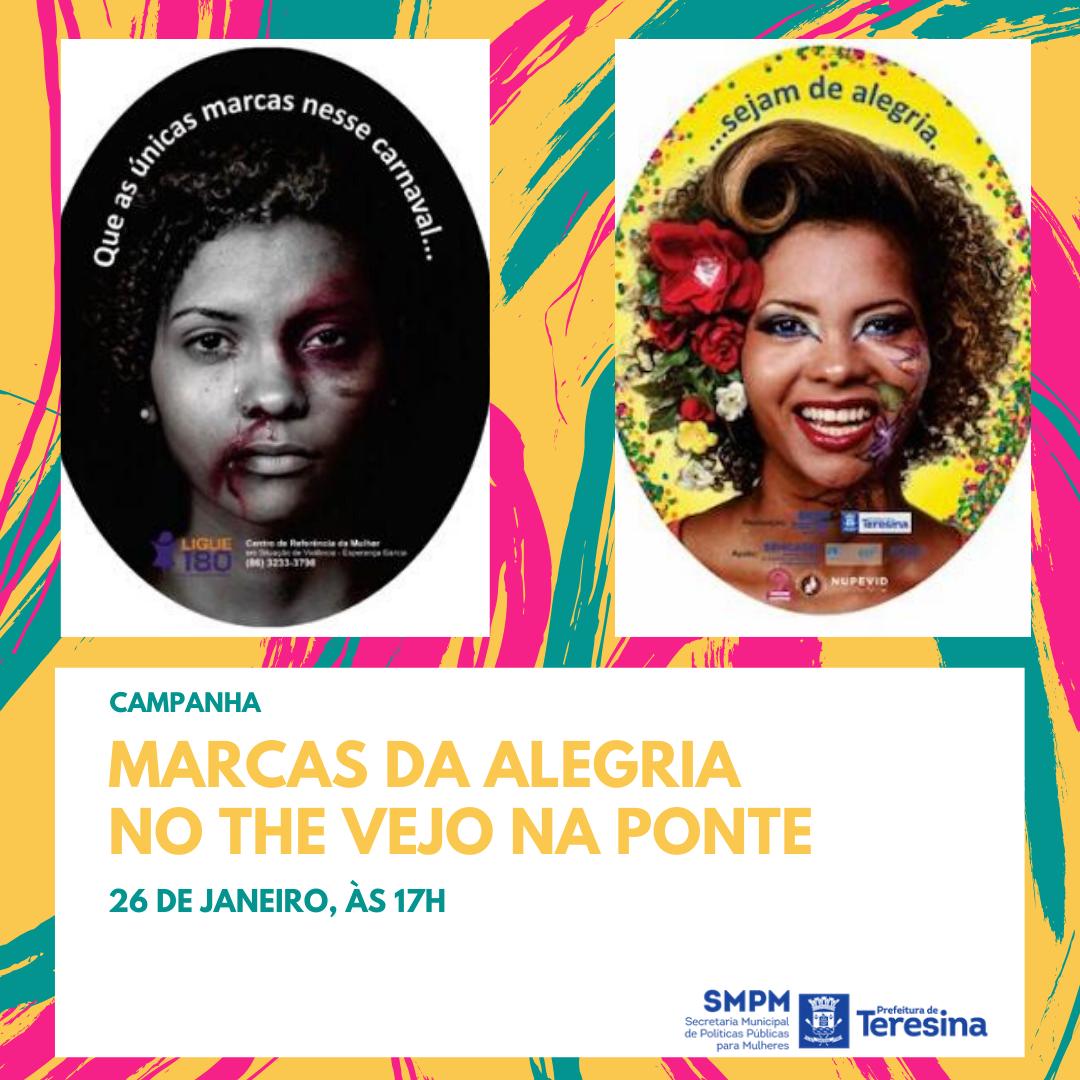 Campanha irá alertar sobre violência de gênero no Carnaval em Teresina - Imagem 1