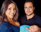 Andressa compartilha ensaio família com Thammy Miranda e Bento