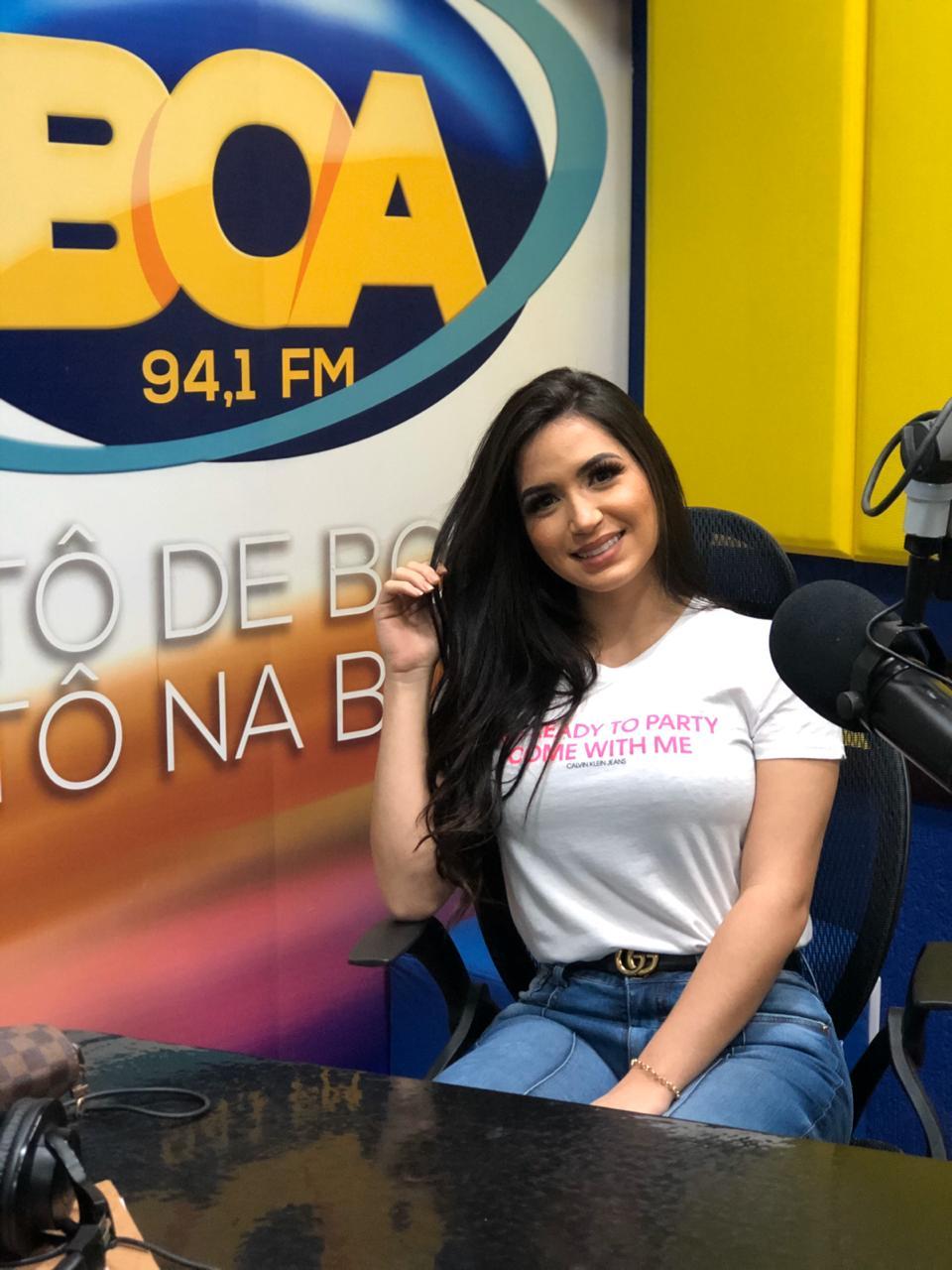 Influencer Fernanda Aguiar esclarece suposto caso com cantor de forró  - Imagem 1