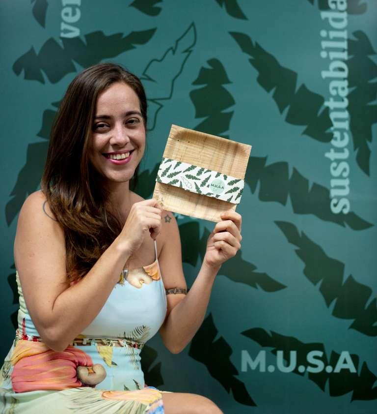 Cearense desenvolve prato biodegradável a partir de resíduos da banana - Imagem 1