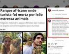Anitta apoia Luisa Mell em post que critica Grazi Massafera em Safári