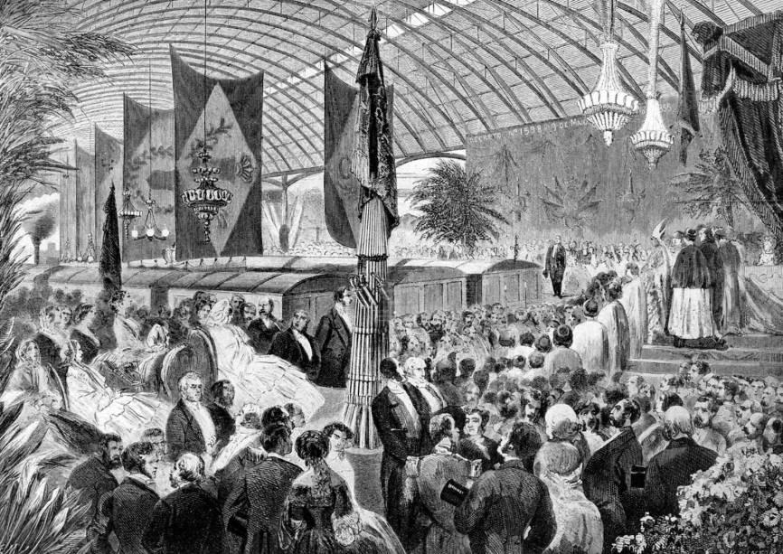 Dom Pedro II, entusiasta dos trilhos, inaugura uma ferrovia em 1858