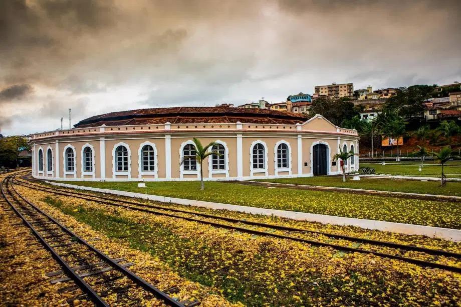 A centenária estação de Tiradentes
