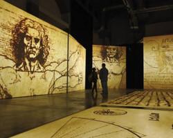 Exposição de Da Vinci segue em cartaz no MIS, em São Paulo