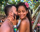 Miss piauiense Monalysa Alcântara se casa em palco de festival