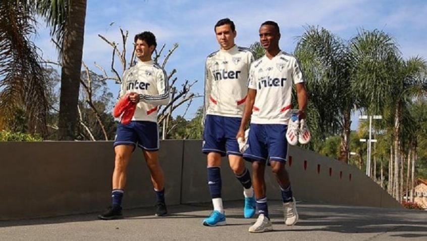 A pré-temporada do São Paulo será feita em Cotia (Foto: Rubens Chiri/saopaulofc.net) .