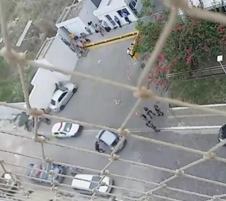 Quadrilha amarra seguranças e rouba edifício comercial na zona Leste