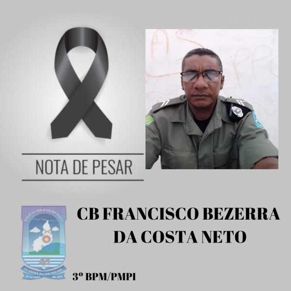 PM presidente de associação morre após passar mal  em plantão no Piauí - Imagem 1