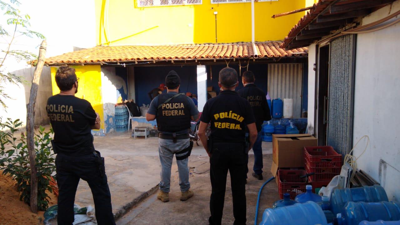 PF combate contrabando de cigarros e cumpre mandados no litoral do PI - Imagem 1