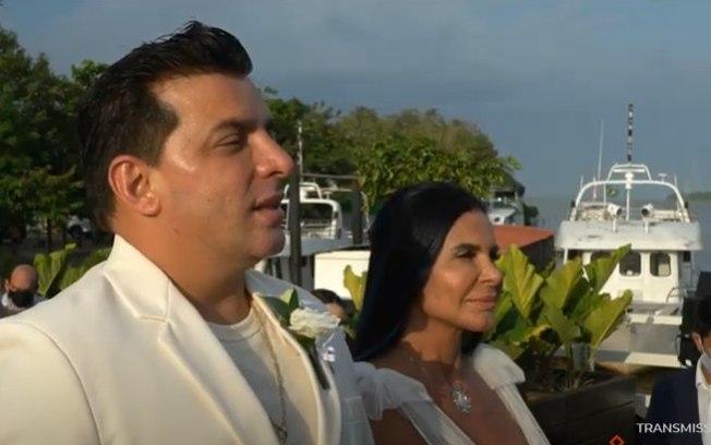 Gretchen se casa em Belém