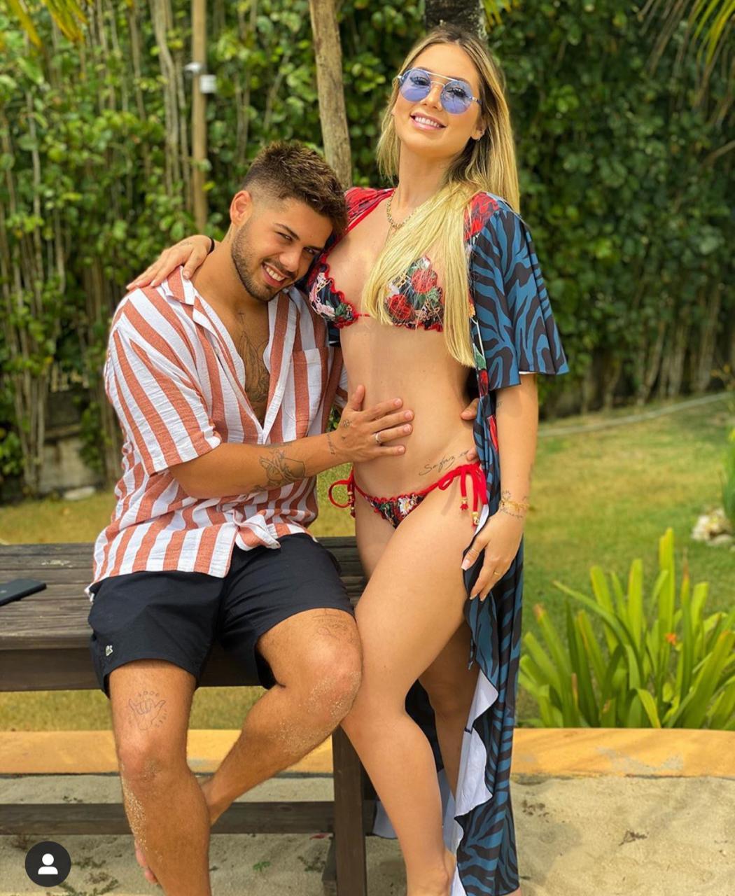 Zé Felipe e Virginia anunciaram que estão esperando o primeiro filho