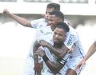 Santos vence Grêmio com 2 gols de Marinho e entra no G6 do Brasileiro
