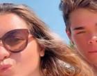 "Filha de Gugu Liberato comemora dois meses de namoro: ""Meu amor"""