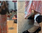 """Flordelis exibe tornozeleira enquanto canta em culto: """"Não prova nada"""""""