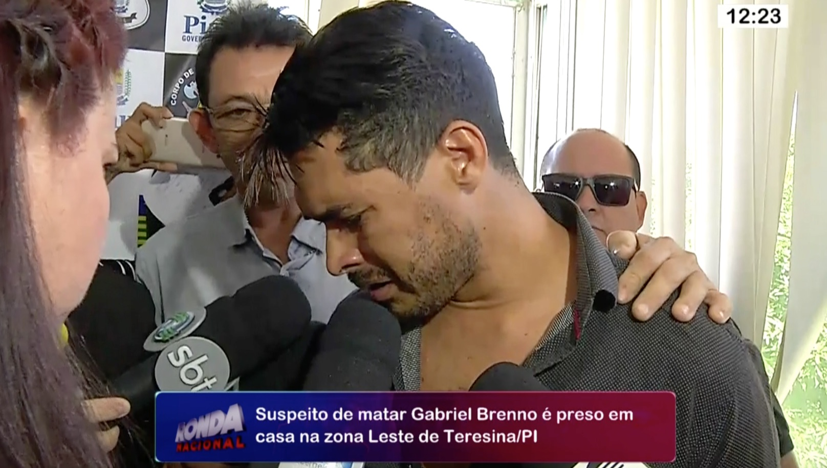 Deivid Ferreira foi preso suspeito de matar estudante em Teresina
