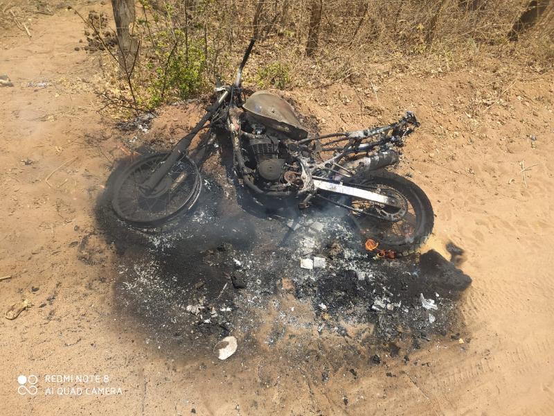 Adolescente grávida é espancada por namorado e tem moto queimada no PI - Imagem 1