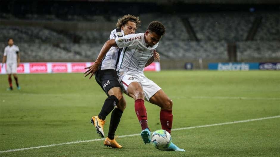 Atlético MG e Fluminense se enfrentaram no Mineirão (Foto: Lucas Merçon)