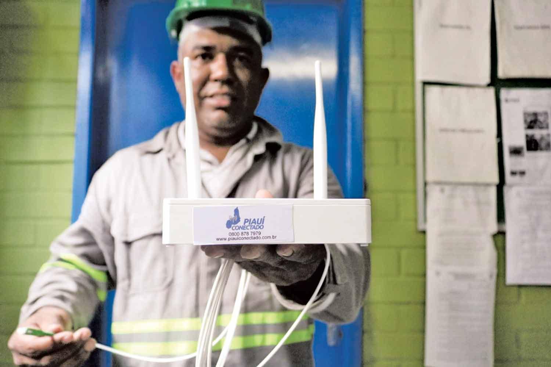 Piauí Conectado já levou internet para 96 municípios piauienses