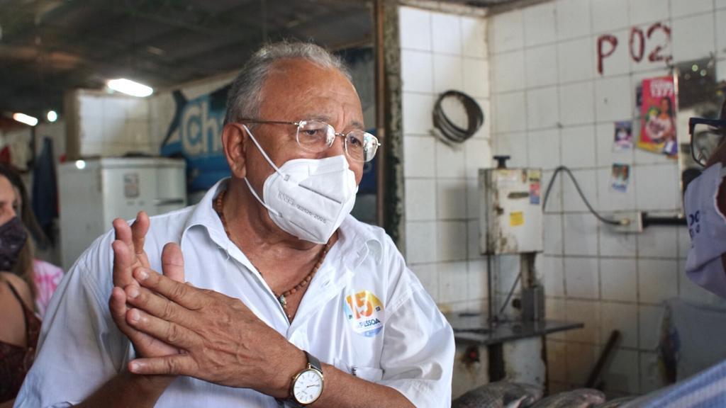 Dr. Pessoa visita Mercado da Piçarra e promete reforma - Imagem 1