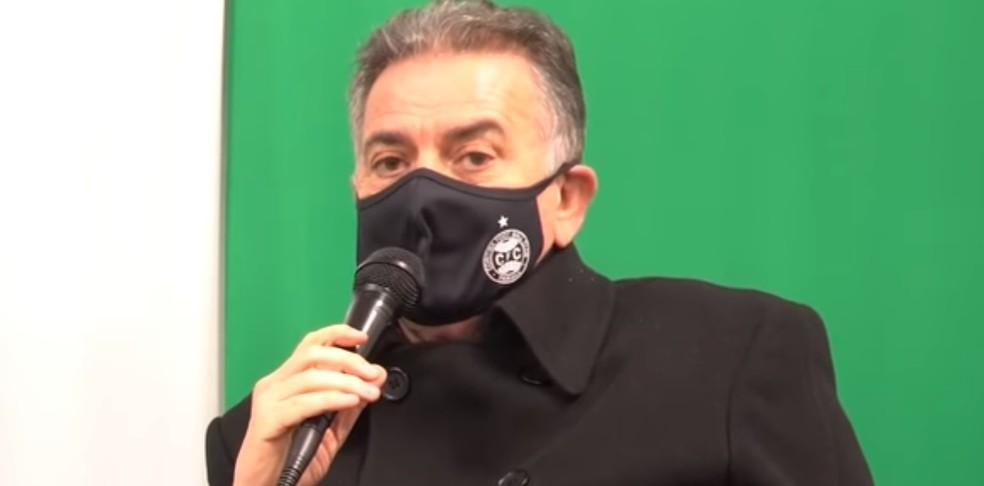 Paulo Pelaipe é o atual executivo do Coxa (Foto: reprodução)