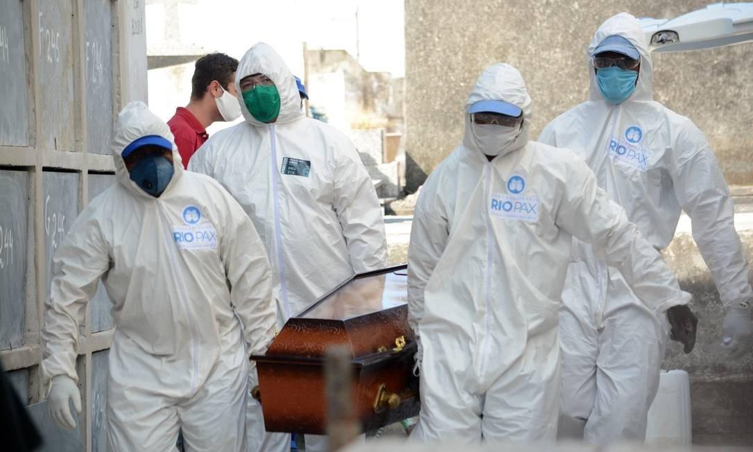Brasil registra 461 mortes por Covid-19 em 24h e chega a 153.675  - Imagem 1