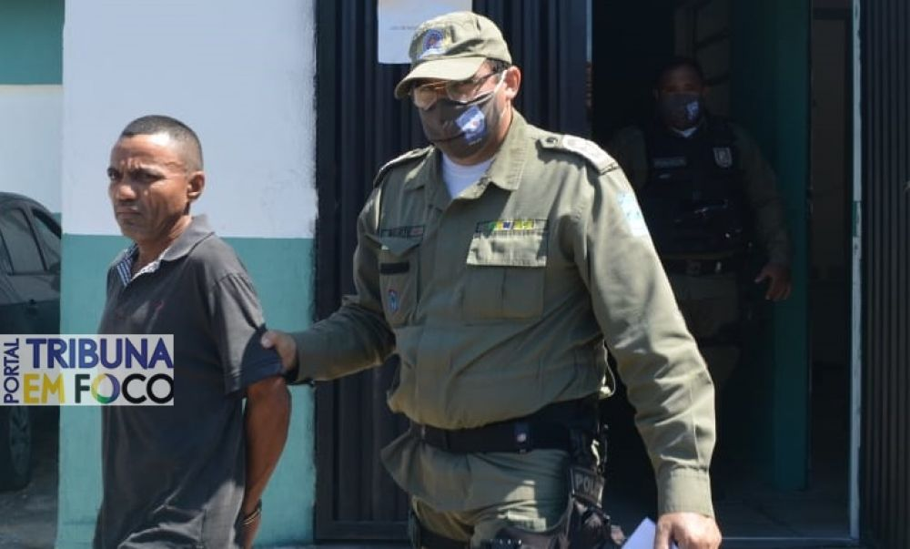 Polícia Militar realizou diligências e prendeu autor do crime