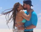 Juliana Paes se encanta por Lençóis Maranhenses e dá beijão no marido