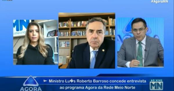 Ministro Luis Roberto Barroso no Agora