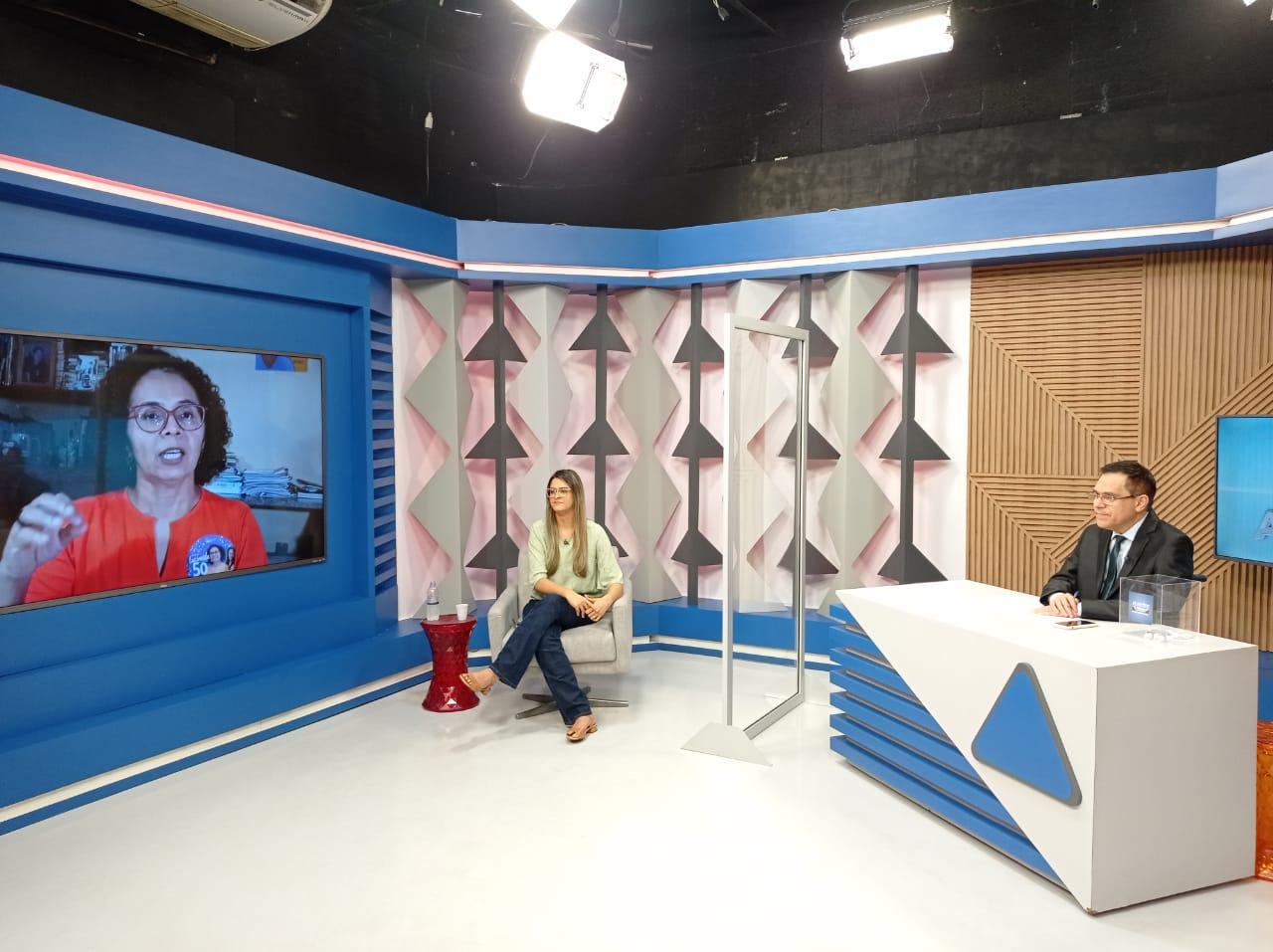 Gessy Fonseca é sabatinada por outros candidatos no Jornal Agora - Imagem 3