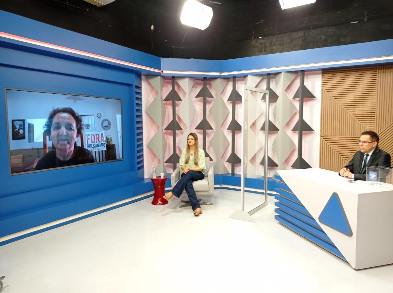 Gessy Fonseca é sabatinada por outros candidatos no Jornal Agora - Imagem 2