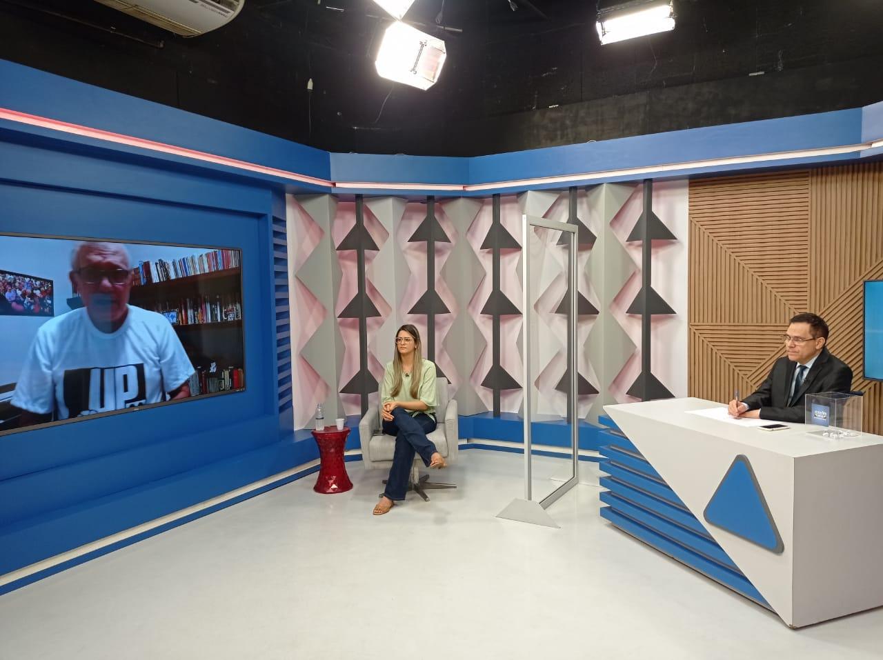 Gessy Fonseca é sabatinada por outros candidatos no Jornal Agora - Imagem 5