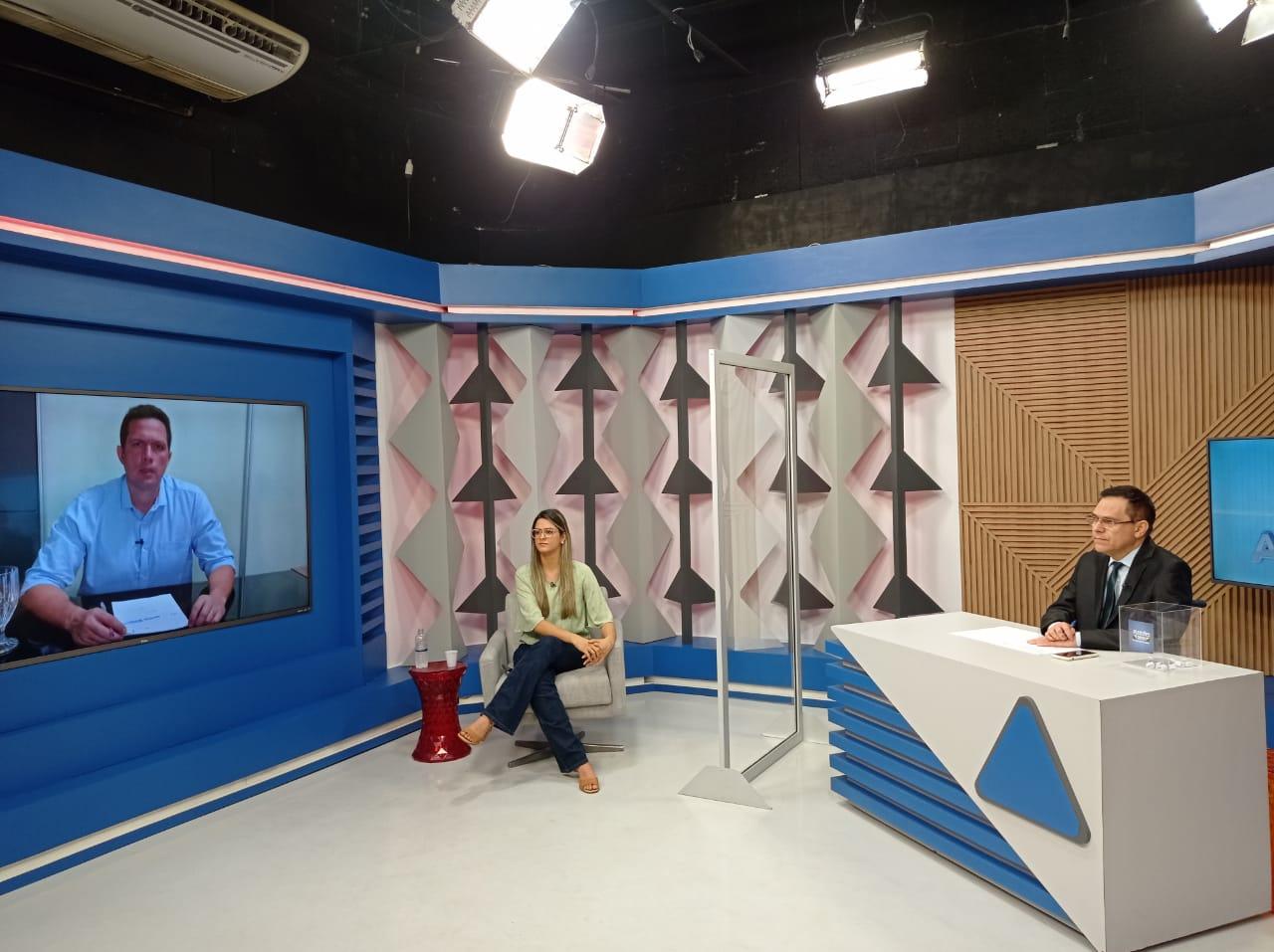 Gessy Fonseca é sabatinada por outros candidatos no Jornal Agora - Imagem 4