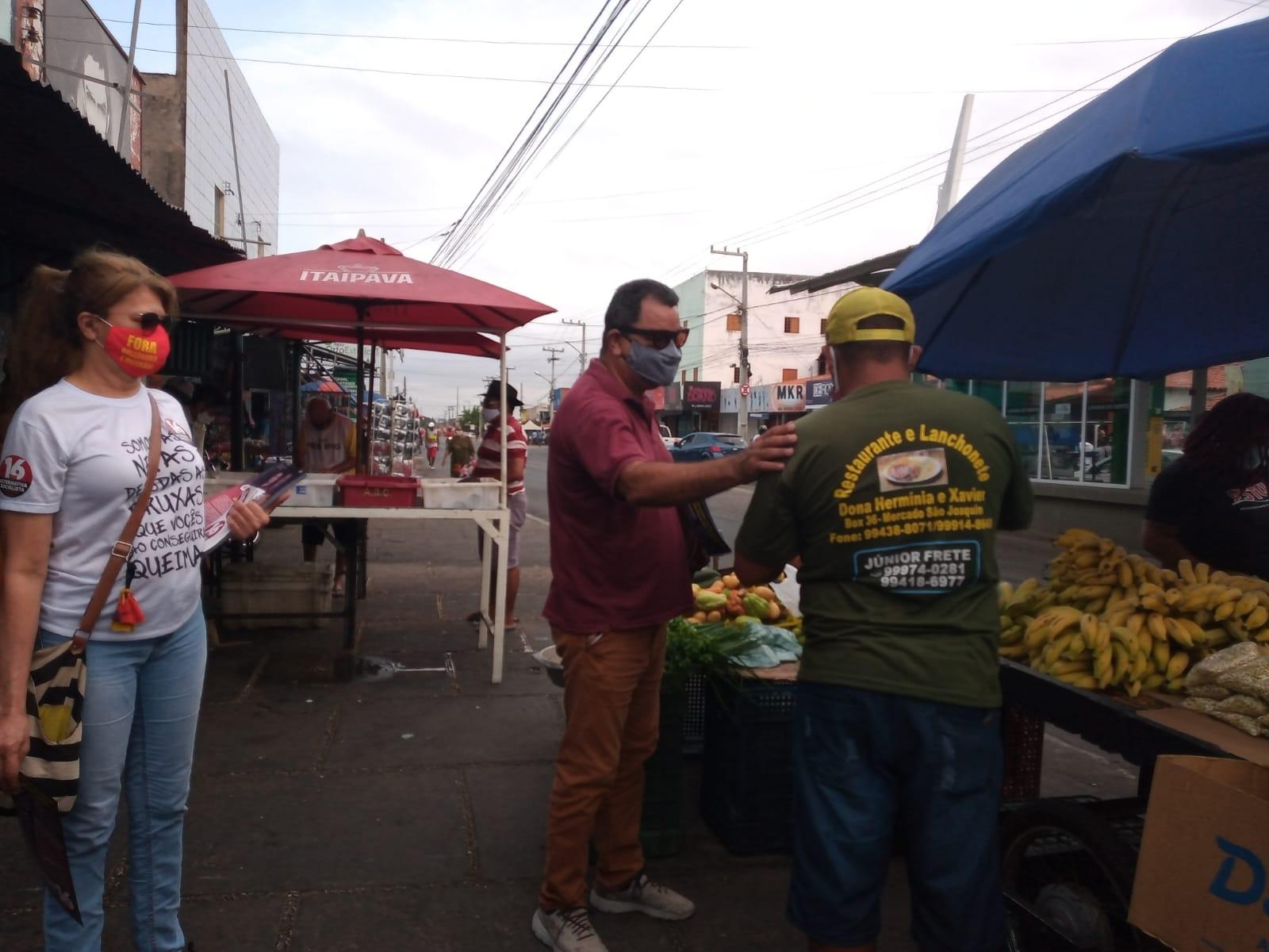 Gervásio Santos visita Mercado do Mafuá e crítica Sistema Inthegra - Imagem 2