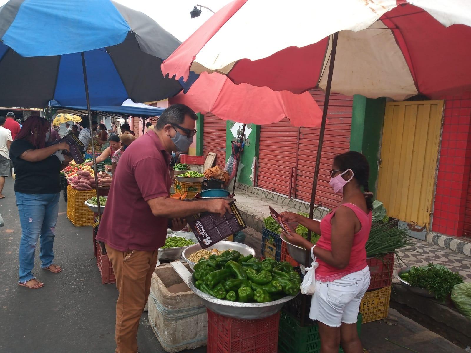 Gervásio Santos visita Mercado do Mafuá e crítica Sistema Inthegra - Imagem 1