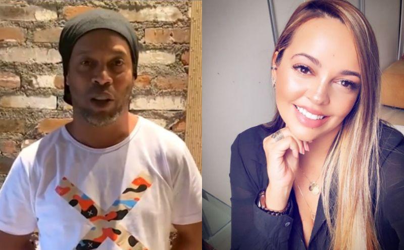 Ronaldinho tenta reconciliação com ex que o denunciou por agressão